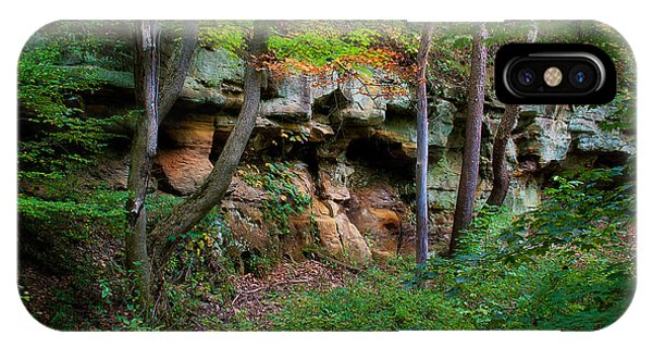 Kickapoo Rock Wall IPhone Case