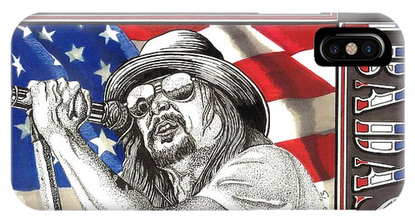 Kid Rock American Badass IPhone Case