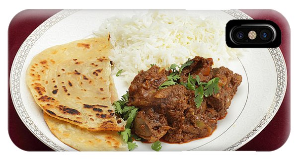 Kidney Masala Meal Side View IPhone Case