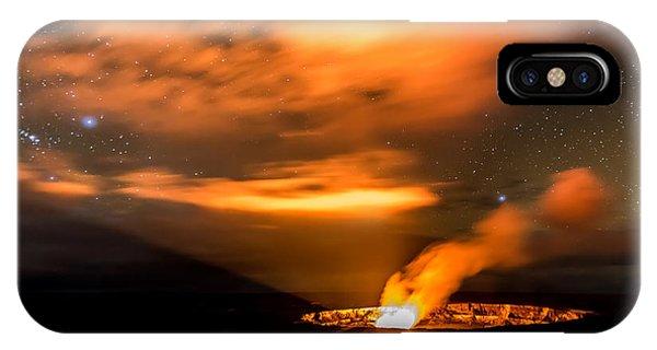 Kilauea's Glow Phone Case by Robert Yone