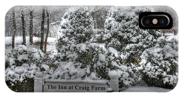 Kilburnie Inn At Craig Farm IPhone Case