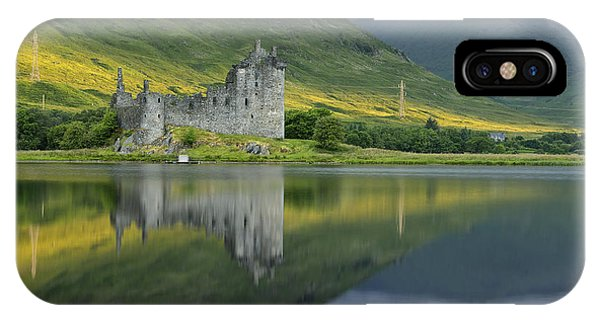 Kilchurn Castle At Sunrise IPhone Case