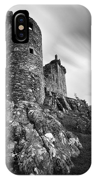 Kilchurn Castle Walls IPhone Case