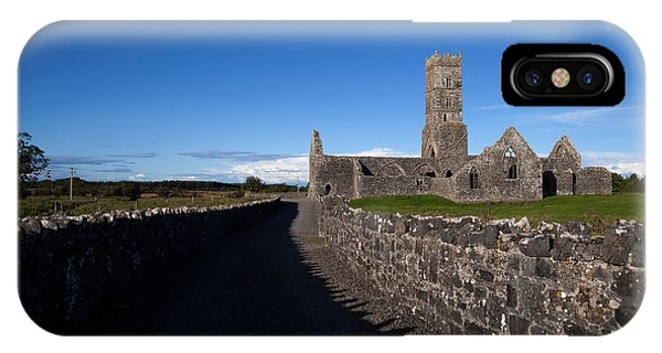 Antiquated iPhone Case - Kilconnell Friary Founded In 1353 by Panoramic Images