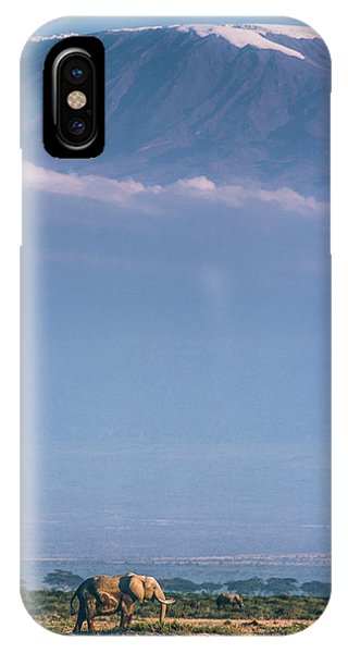 Kilimanjaro And The Quiet Sentinels IPhone Case
