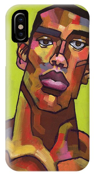 Portraits iPhone X Case - Killer Joe by Douglas Simonson
