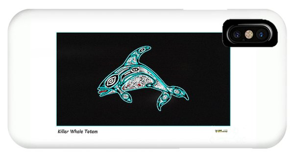 Killer Whale Totem IPhone Case