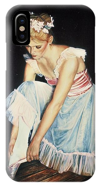 Kim At Her Dress Rehersal IPhone Case