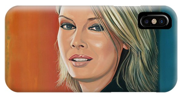 Cambodia iPhone Case - Kim Wilde Painting by Paul Meijering