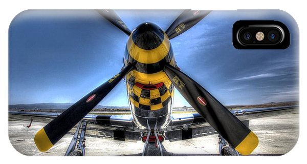 Kimberly Kaye P51 Mustang IPhone Case