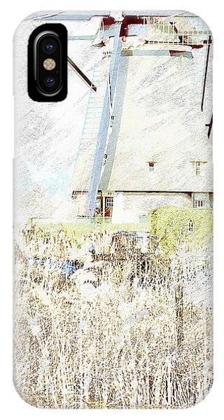 iPhone Case - Kinderdijk 5b by Arie Van Garderen