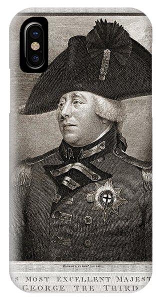 King George IIi 1810 IPhone Case