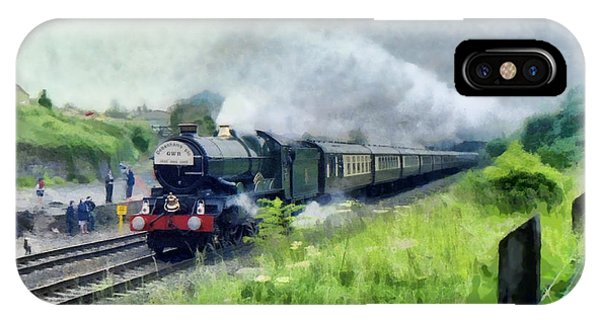 'king George V' Locomotive IPhone Case