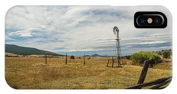 King Homestead Windmill Phone Case by Joe Hudspeth