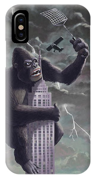 King Kong Plane Swatter IPhone Case