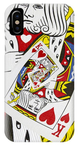 King Of Hearts Collage IPhone Case