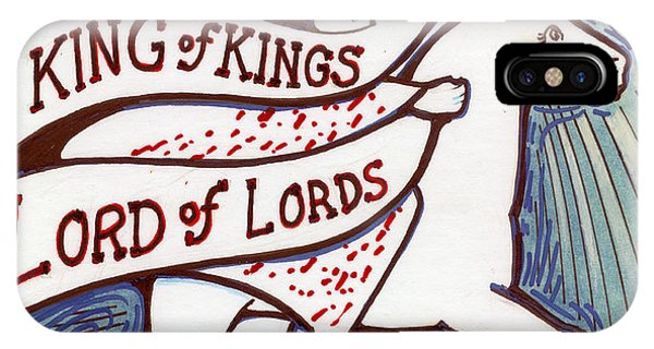 King Of Kings Phone Case by Peter Olsen