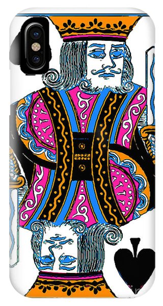 King Of Spades - V3 IPhone Case