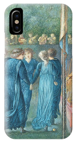Pre-modern iPhone Case - King Renes Wedding, 1870 Oil On Canvas by Sir Edward Coley Burne-Jones