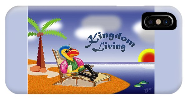 Kingdom Living IPhone Case