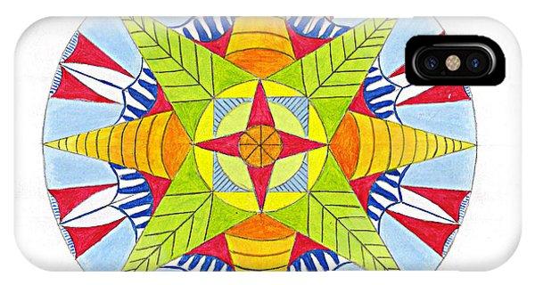 Kingdom Mandala Phone Case by Silvia Justo Fernandez