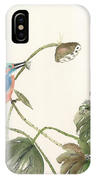 Kingfisher Catch IPhone Case