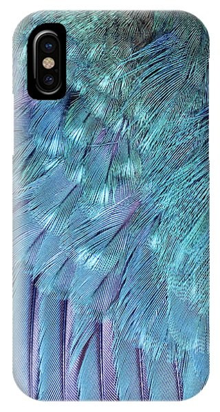 Kingfisher Wing Feathers Phone Case by John Devries/science Photo Library