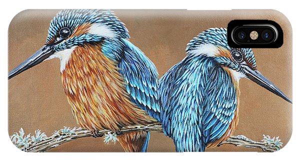 Kingfishers IPhone Case