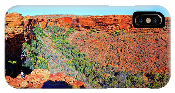 Kings Canyon iPhone Case - Kings Canyon Central Australia by Bill  Robinson