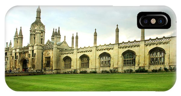 King's College Facade IPhone Case