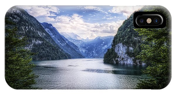 IPhone Case featuring the photograph Kings Lake by Ryan Wyckoff