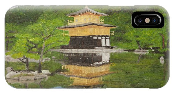 Kinkaku Ji IPhone Case