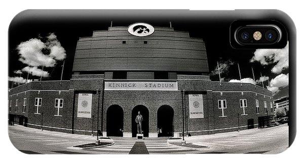 Kinnick Stadium IPhone Case