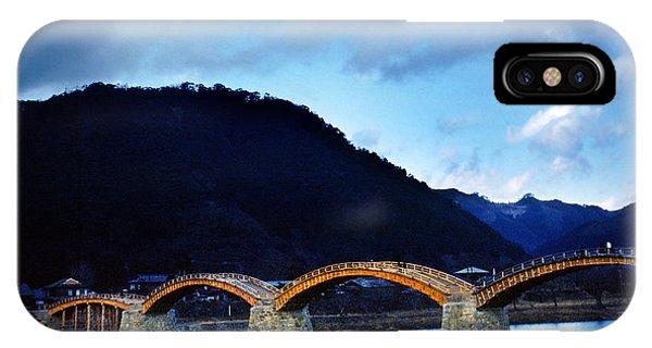 Kintai Bridge Japan IPhone Case