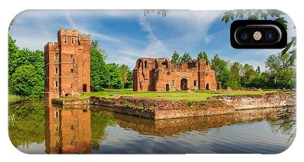 Kirby Muxloe Castle Phone Case by David Ross