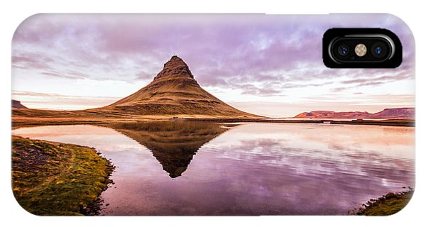 Kirkjufell At Sunset IPhone Case
