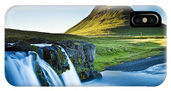 Kirkjufell Mountain IPhone Case