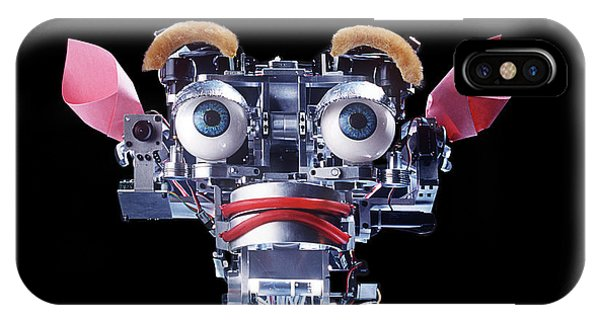 Kismet Robot Showing Fear by Peter Menzel/science Photo Library