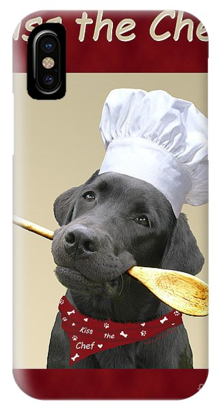 Kiss The Chef IPhone Case