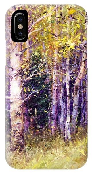 Kissing Tree Phone Case by Bill Inman