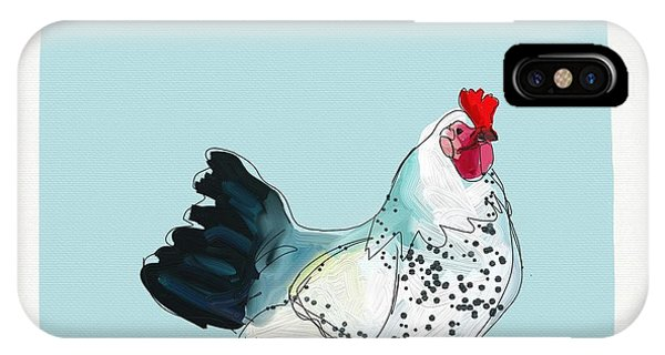 Animals iPhone Case - Kitchen Chicken by Cathy Walters
