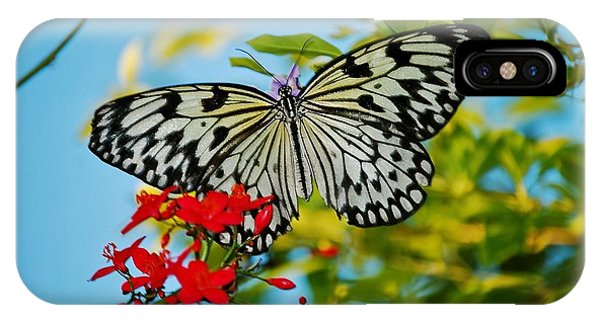 Kite Butterfly IPhone Case