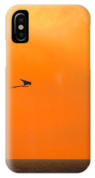 Kite-flying At Sunset IPhone Case