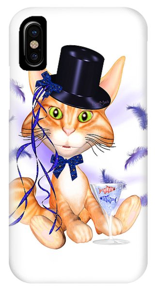 Luxmaris iPhone Case - Kitticat Party Design by Renate Janssen
