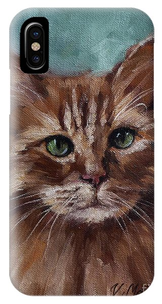 Kitty - Custom Pet Portrait IPhone Case