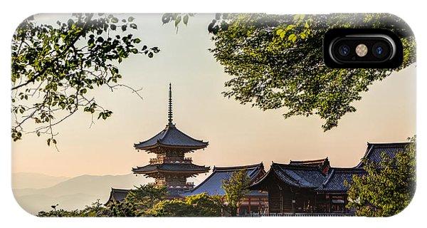 Kiyomizu-dera In Kyoto Japan IPhone Case