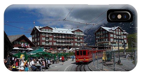 Kleine Schedegg Switzerland IPhone Case