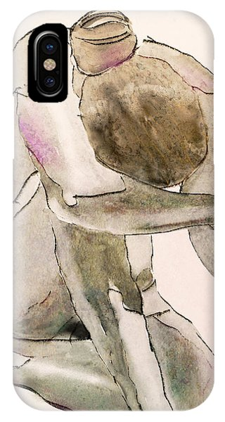 Kneeling Nude IPhone Case
