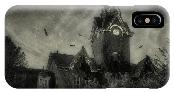 Haven iPhone Case - Knox County Poorhouse by Tom Mc Nemar