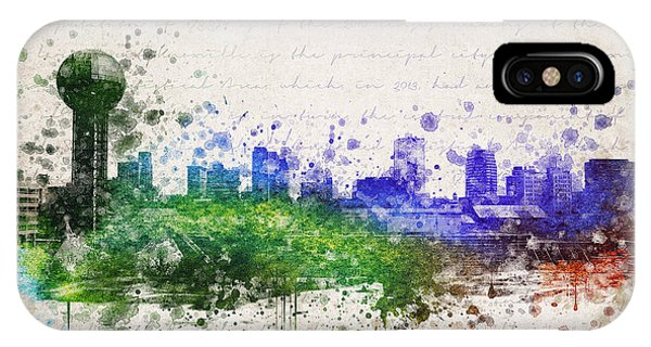 Knoxville In Color IPhone Case